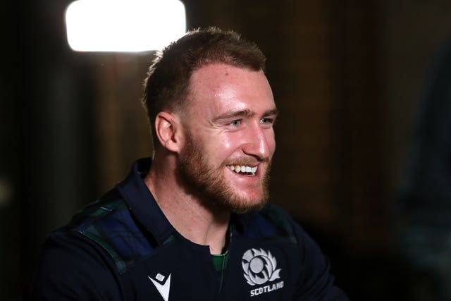 Stuart Hogg has taken over the captaincy