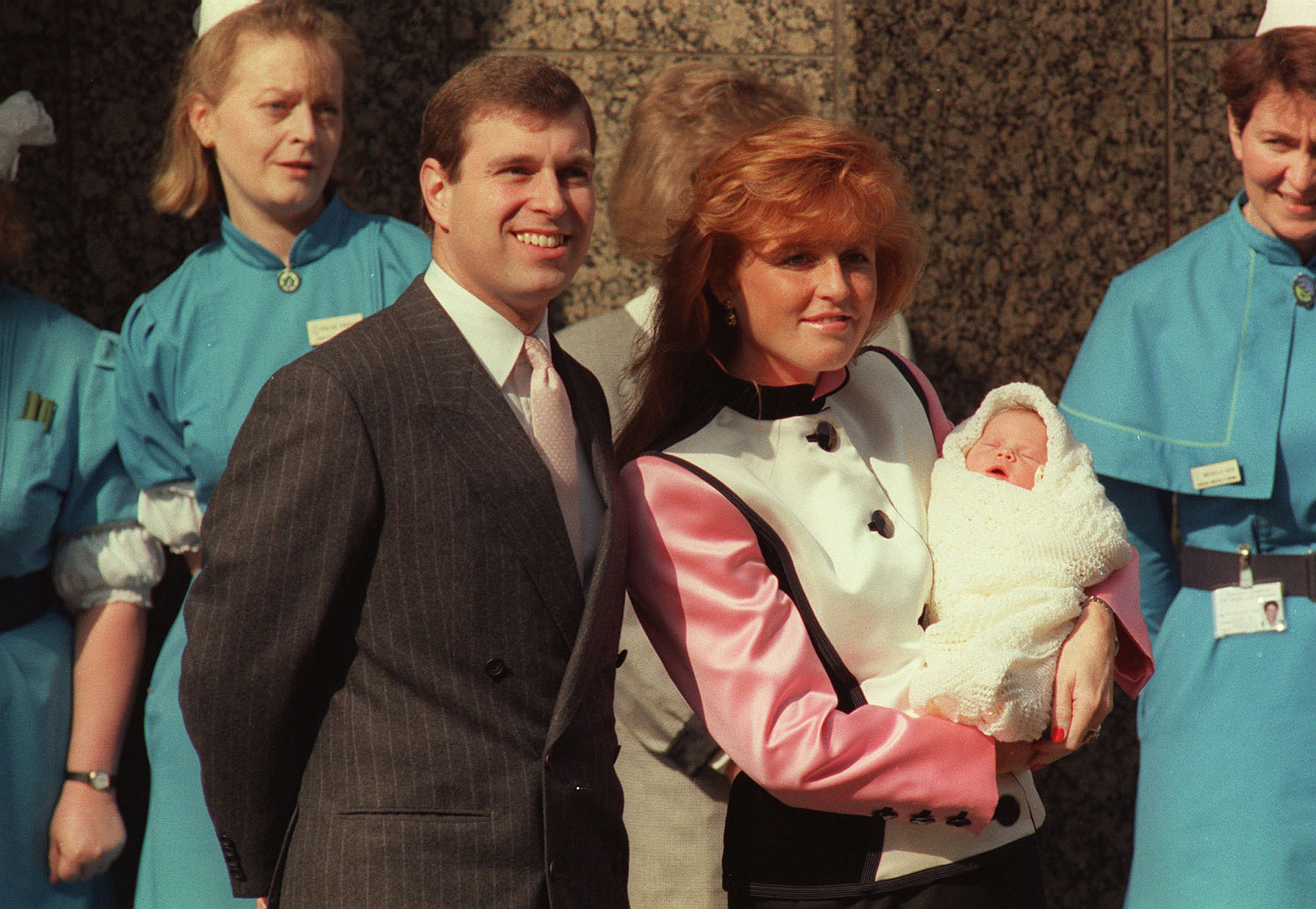 Newborn Princess Eugenie