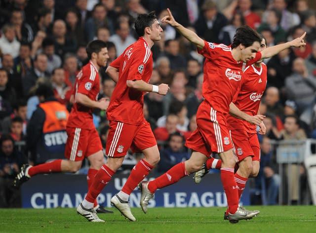 Yossi Benayoun scored against Real