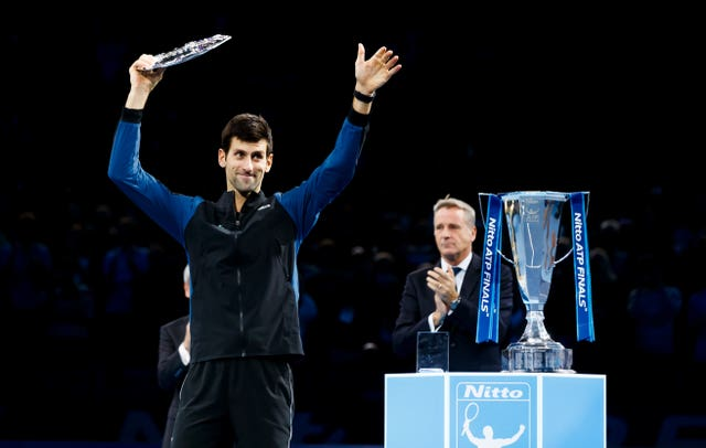 Novak Djokovic was runner-up in London last year (John Walton/PA)