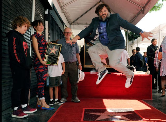 Jack Black Honored with a Star on the Hollywood Walk of Fame