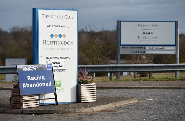 Ominous signs at British racecourses