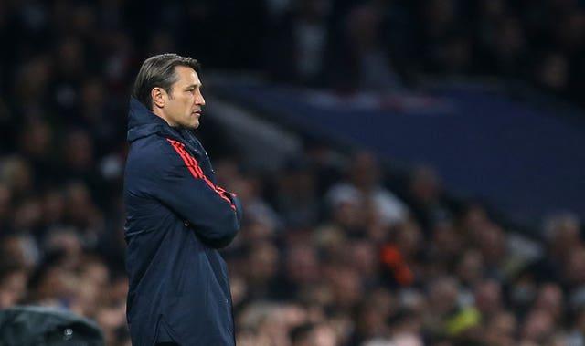 Niko Kovac was dismissed by Bayern Munich after defeat to Frankfurt