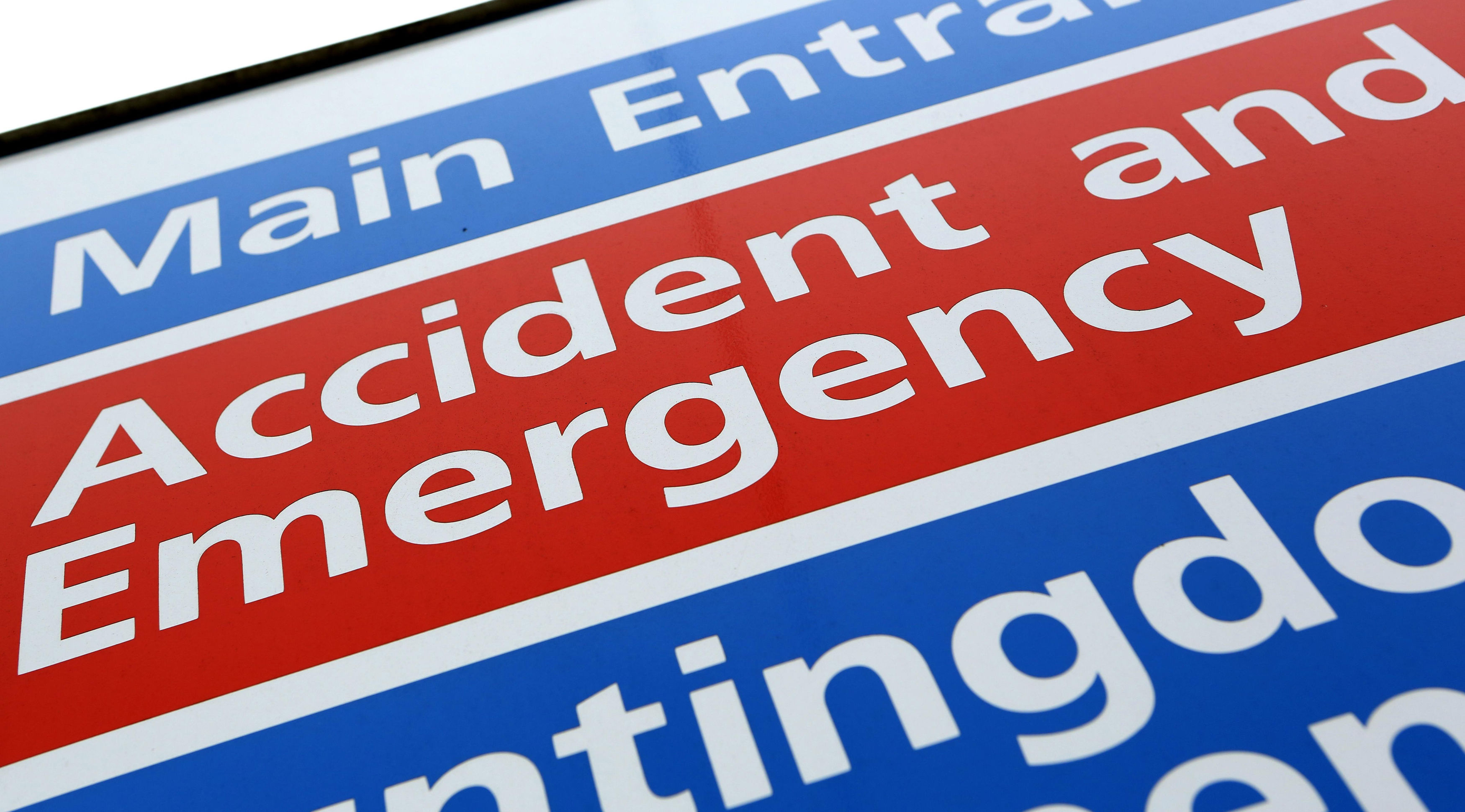 A&E waiting times in England hit worst-ever level