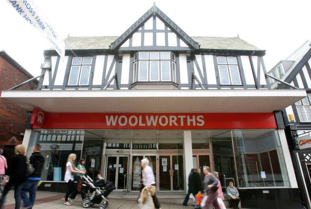 Woolworths closures
