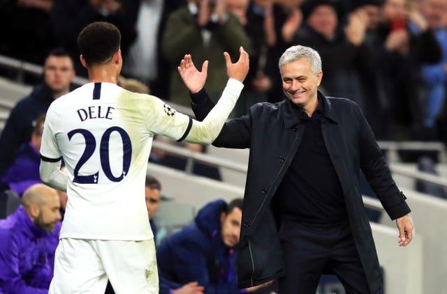 Jose Mourinho had won his opening three suits as Tottenham boss