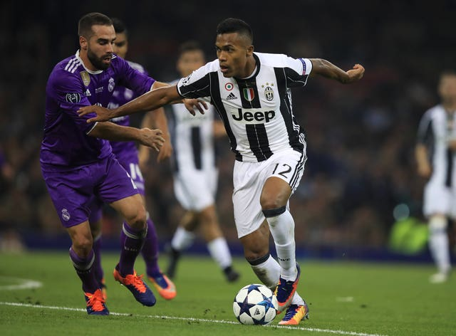 Alex Sandro plays for Juventus