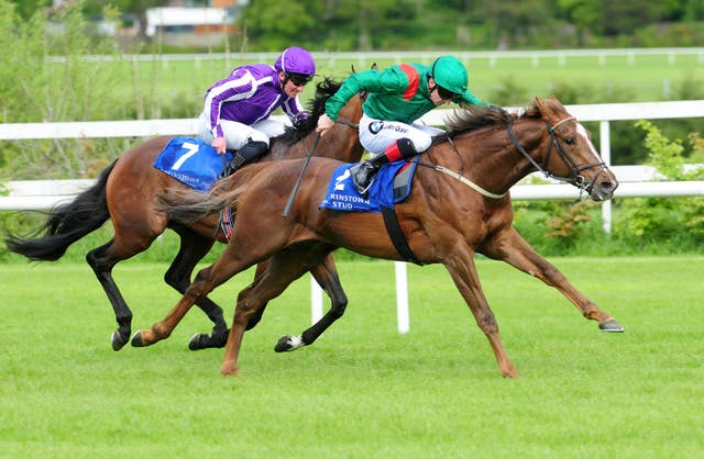 Hazapour impressed in beating Delano Roosevelt at Leopardstown