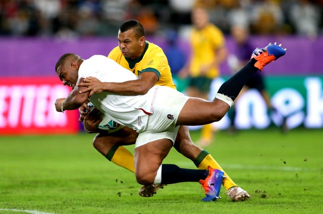 Kyle Sinckler scored a try as England overcame Australia
