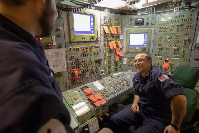 Gavin Williamson visit HM Naval Base Clyde