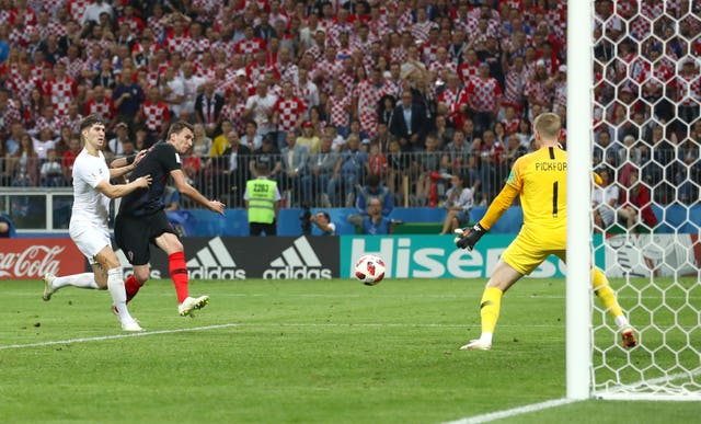 Marko Mandzukic's goal saw Croatia beat England in extra-time of their World Cup semi-final - Croatia have not won since.