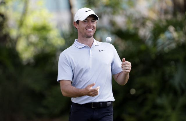 Rory McIlroy is in contention