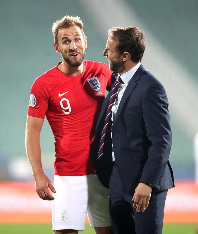 Gareth Southgate says Harry Kane has the focus that younger players lack