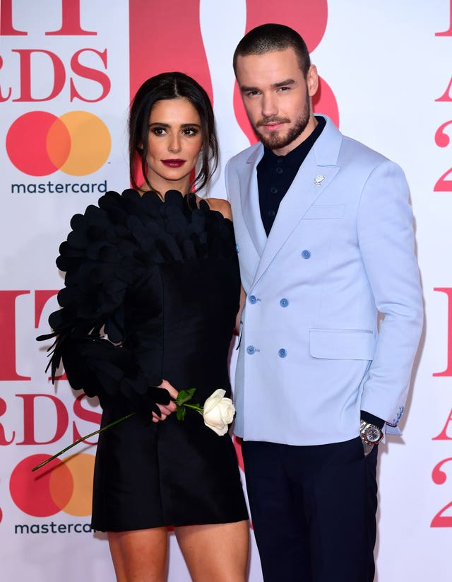 But it was Cheryl and Liam who stole the show - defying rumours their relationship is on the rocks (Ian West/PA)