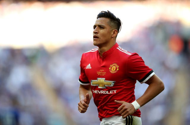 Sanchez started last season's FA Cup final.