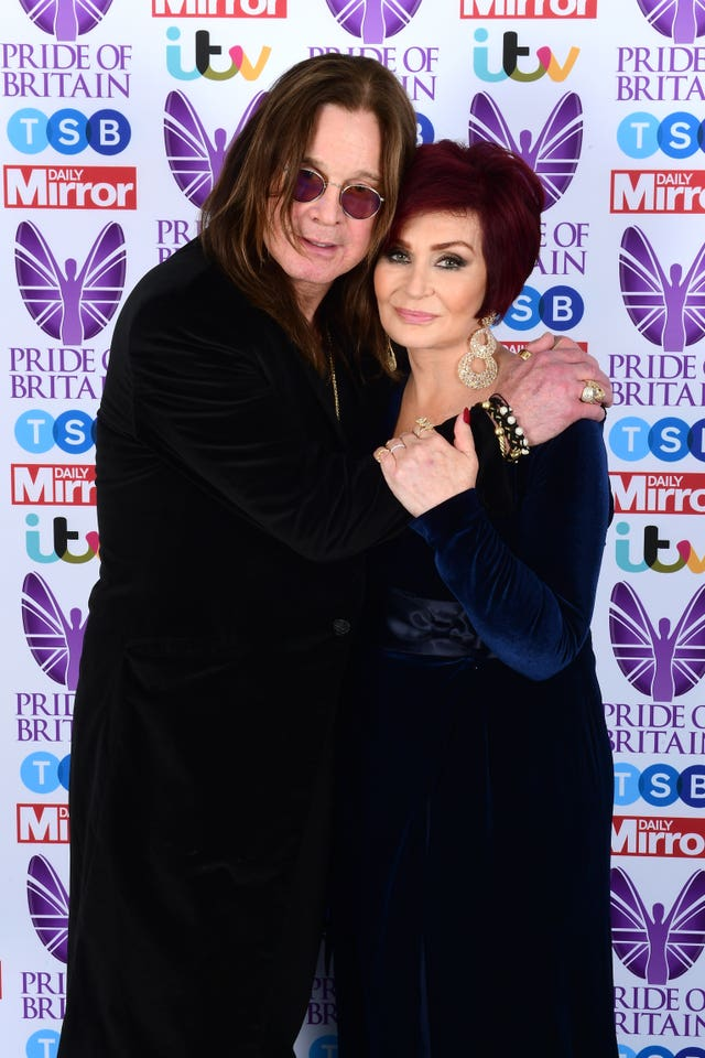Wife and manager Sharon Osbourne has rowed with AEG