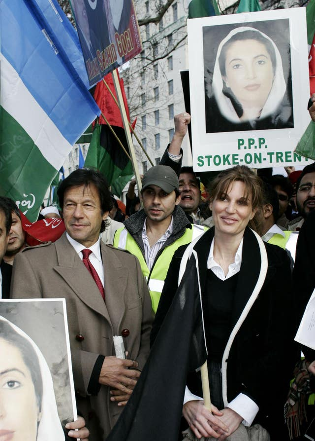 Imran and Jemima Khan