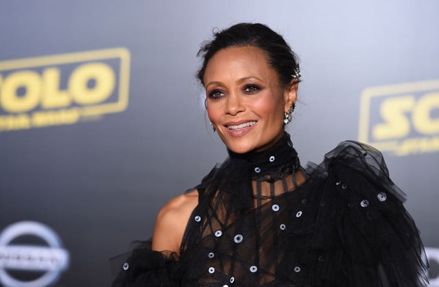 "Thandie Newton plays Val in Solo: A Star Wars Story"" (Jordan Strauss/AP)"