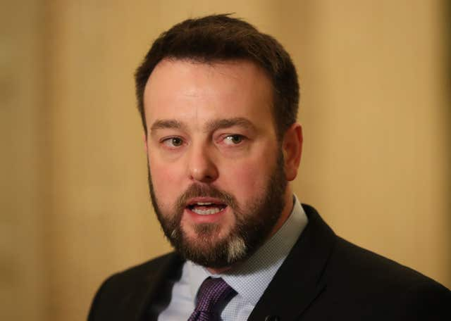 SDLP leader Colum Eastwood urged an end to Sinn Fein-DUP wrangling