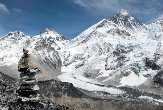 Mount Everest in Nepal (David Cheskin/PA)