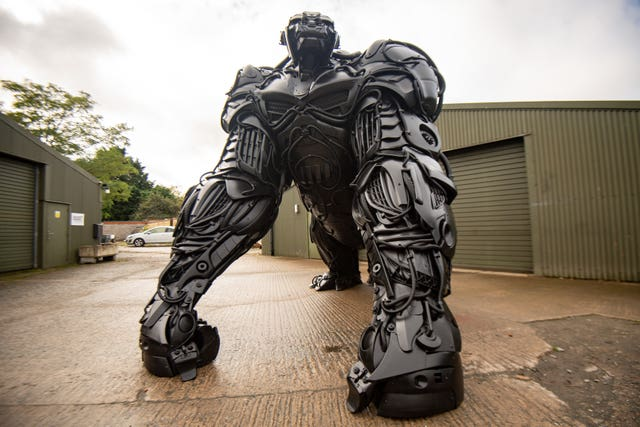 Gorilla sculpture