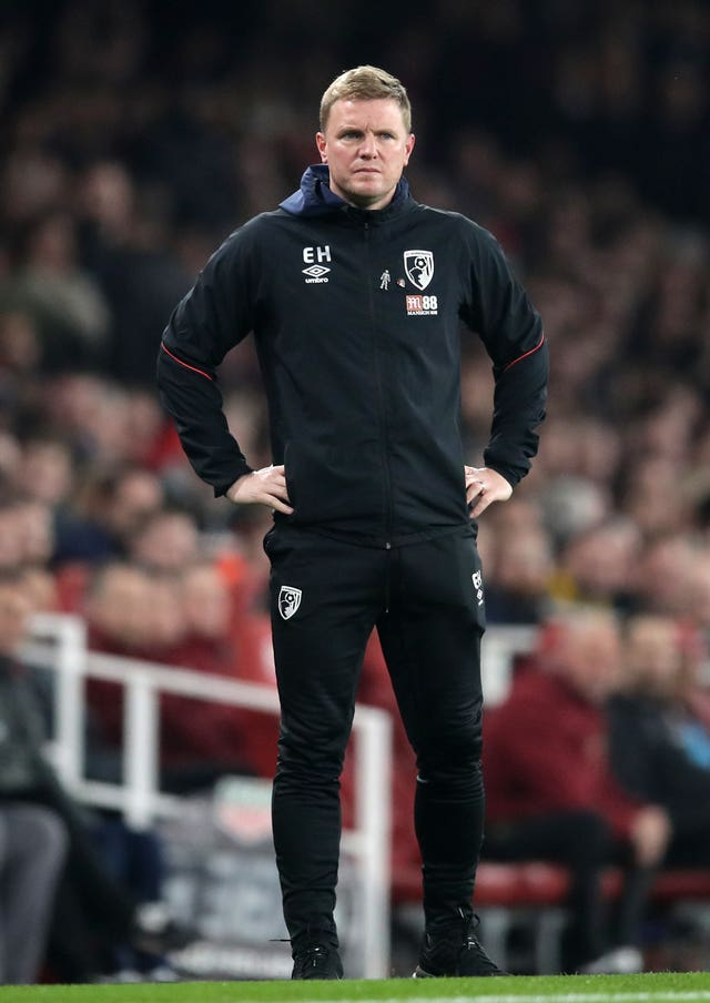 Bournemouth's away form is a cause for concern for Eddie Howe
