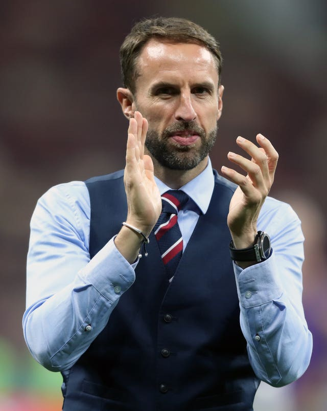 Gareth Southgate saluted his squad for their achievements