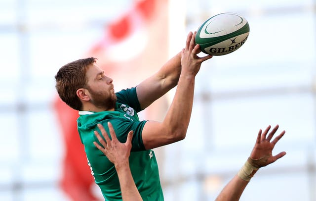 Iain Henderson is set to return from injury for Ireland