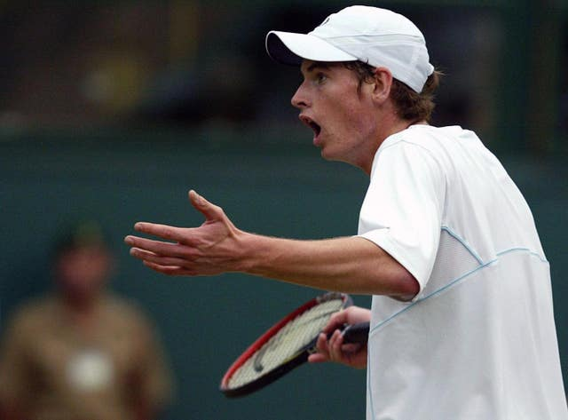 Tennis – Wimbledon Championships 2005 – Men's Third Round – Andrew Murray v David Nalbandian – All England Club