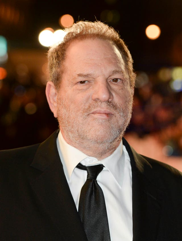 Harvey Weinstein (Anthony Devlin/PA)