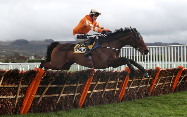Fakir D'Oudairies, now owned by JP McManus, seen winning at Cheltenham in January (