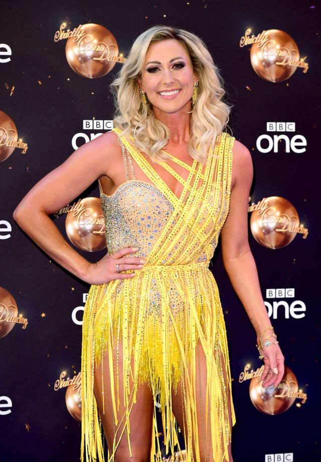 Faye Tozer at the Strictly Come Dancing Launch