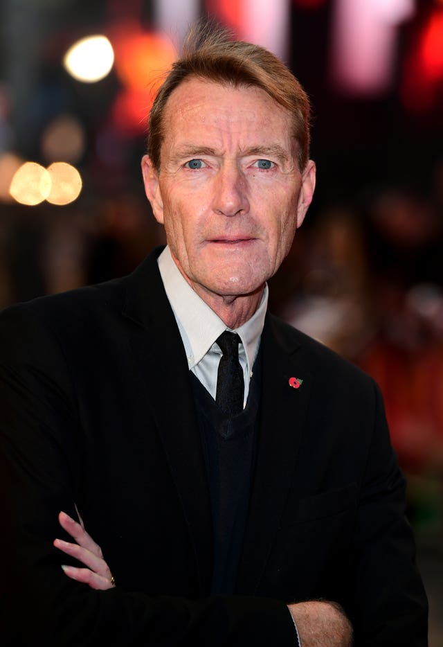 Lee Child attending the Jack Reacher: Never Go Back European Premiere at Cineworld Leicester Square, London (Ian West/PA)