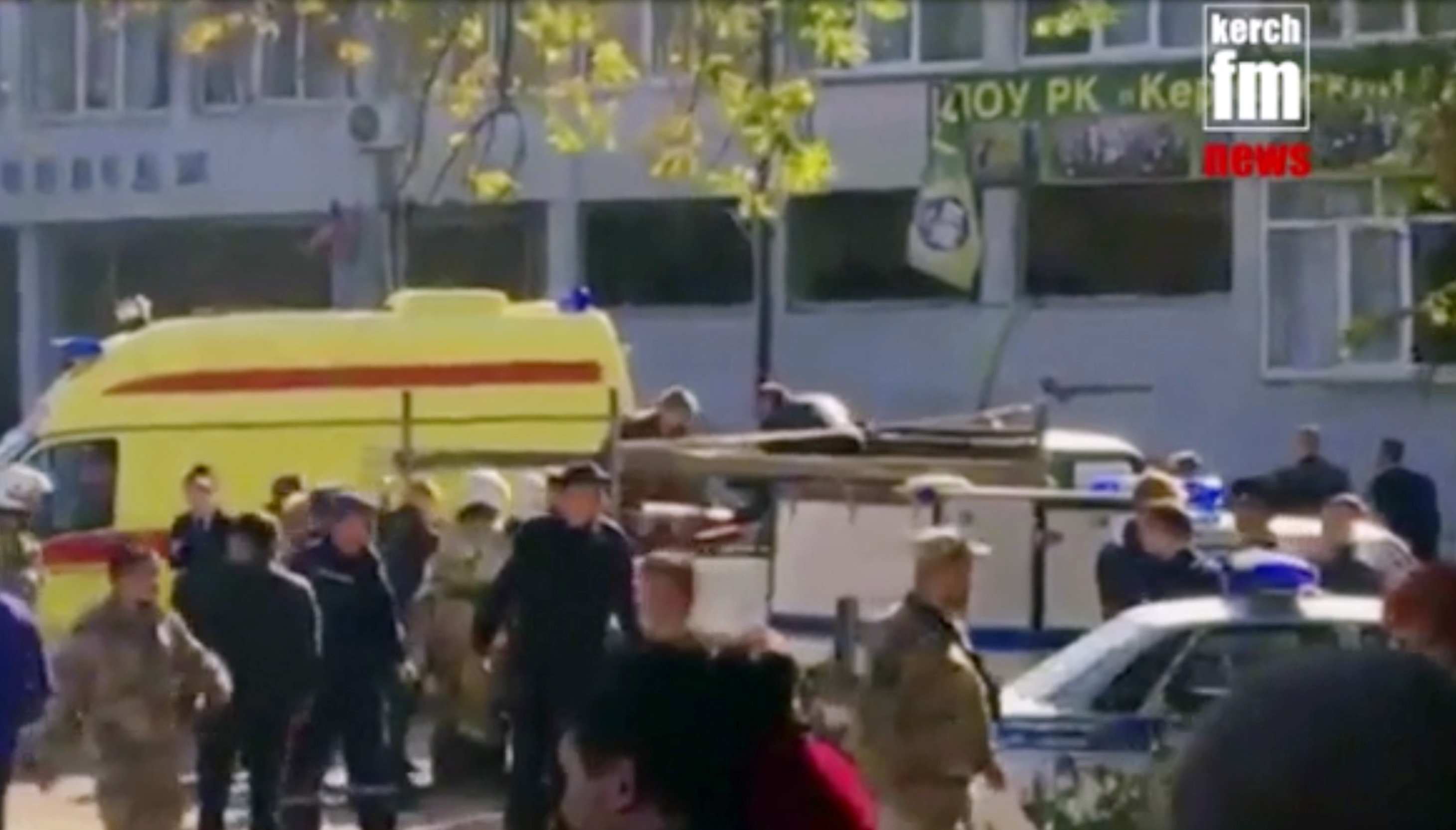 Deathtoll in Kerch college shooting climbs to 20 people - authorities