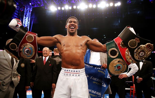 Anthony Joshua retains his WBA, WBO and IBF belts