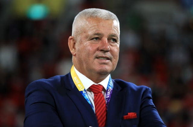 Warren Gatland is hoping for a positive result this time around
