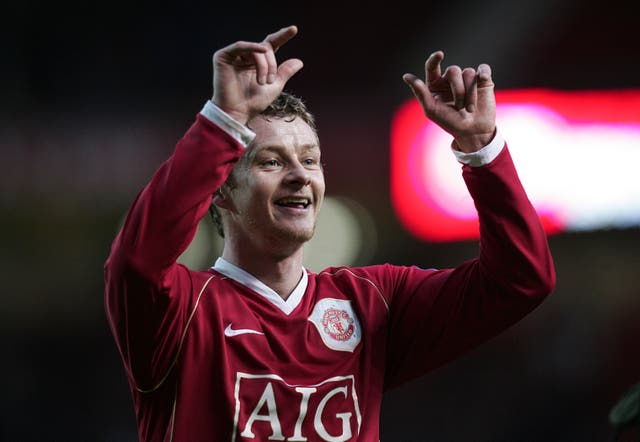 Ole Gunnar Solskjaer won the FA Cup twice as a United player