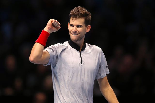 Austria's Dominic Thiem was the victor