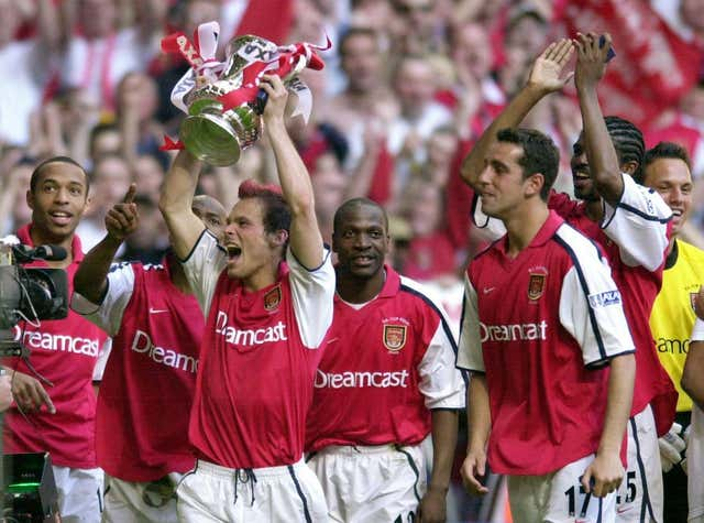 Fredrik Ljungberg had a successful playing career with Arsenal