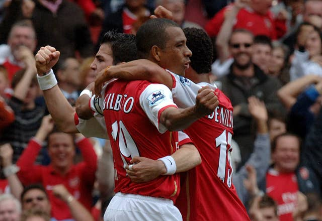A Gilberto Silva penalty helped Arsenal to draw with Chelsea in May 2007 - preventing the Blues from being able to win the Premier League.