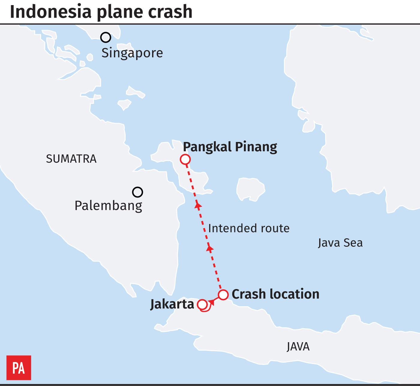 Boeing cites airline error in Indonesian crash