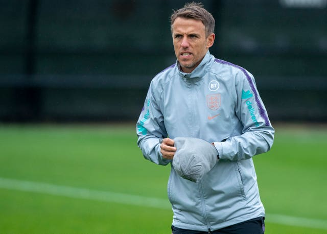England Women's head coach Phil Neville has been linked with a Goodison Park return