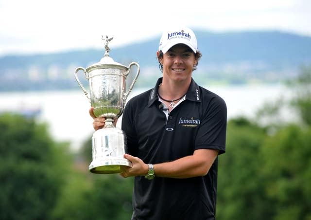 Rory McIlroy won the US Open at Congressional