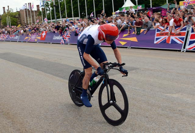 The British rider secured a bronze medal in the 2012 Olympic games in London during the Men's Individual Time Trial, with Wiggins taking gold
