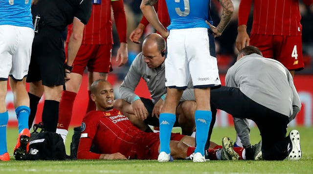 Liverpool v Napoli – UEFA Champions League – Group E – Anfield