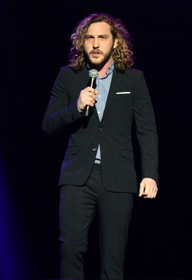 Seann Walsh at the Teenage Cancer Trust concert