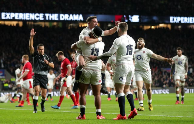 A third straight win for England followed, as well as the Triple Crown, after condemning Wales to a third defeat in a row with a thrilling 33-30 victory at Twickenham