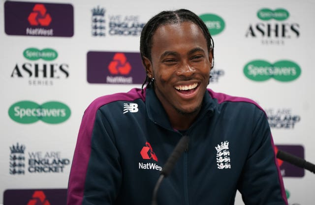 Jofra Archer comes in for James Anderson