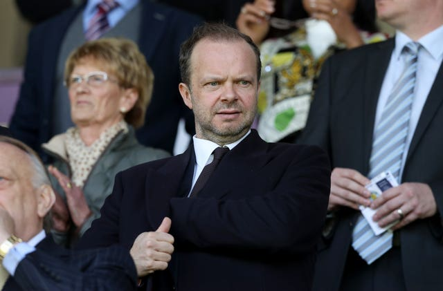 Ed Woodward is confident Solskjaer will turn it around at Manchester United