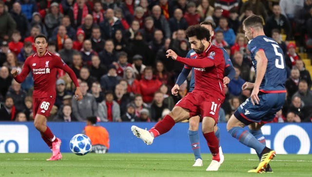 Liverpool 4 - 0 Crvena Zvezda: Mohamed Salah scores twice as Liverpool make light work of Red Star Belgrade